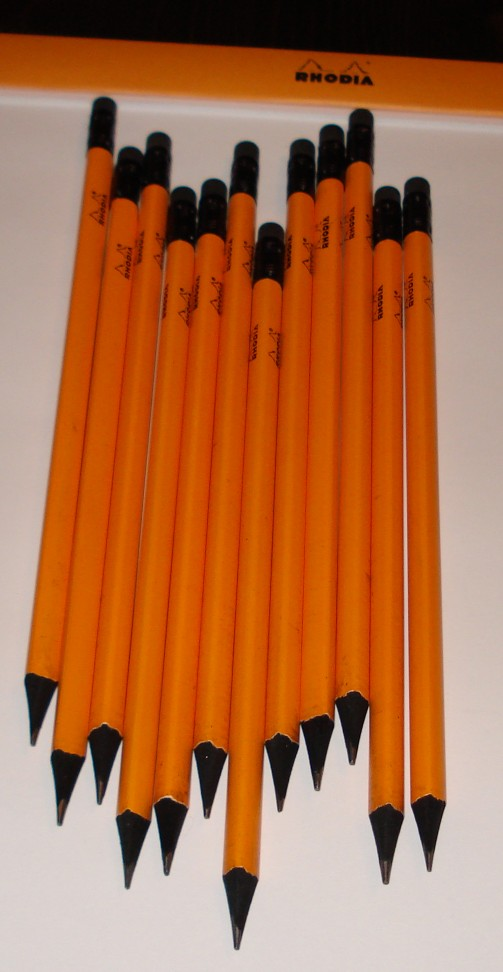 The Rhodia Pencil