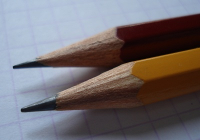 The Stabilo Schwan pencil.